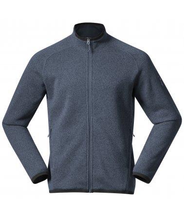 Pánská fleece mikina Bergans Kamphaug Knitted Jacket