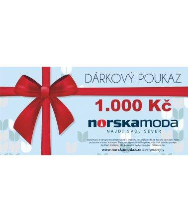 Elektronický dárkový poukaz 1000kč
