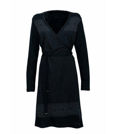 Dámské Vlněné šaty Setesdal Wrapdress We Norwegians