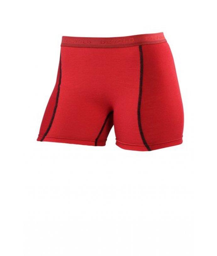 MULTISPORT Kalhoty krátké boxer,červeno/červená, dámské