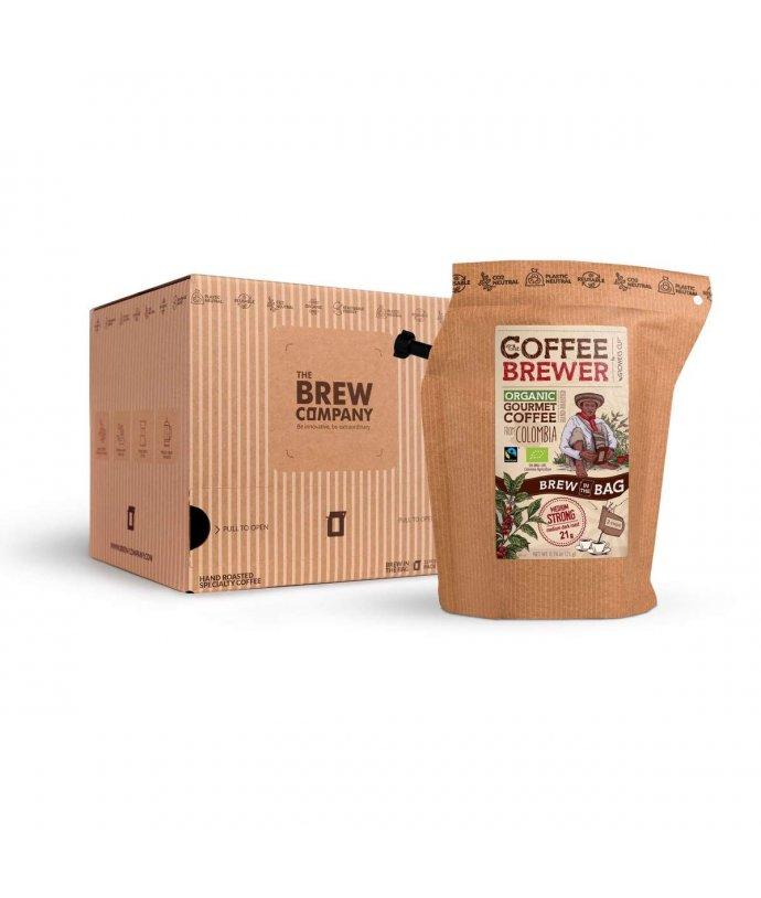 Colombia, certifikovaná organická Fairtrade káva Grower's Cup, 1ks