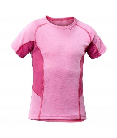 Multi Sport Triko krátký rukáv, růžová/tmavě růžová dětské