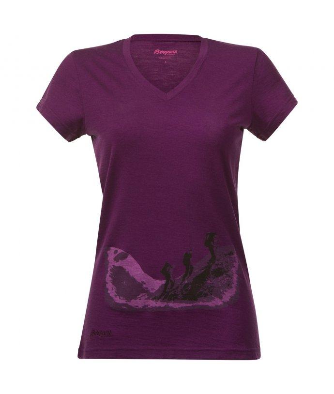 Bergans Tur Wool Lady Tee, triko, dámské