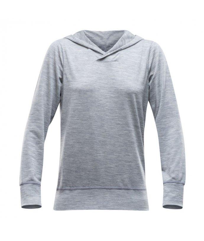 DEVOLD® BULDRE WOMAN hoodie, triko sdlouhým rukávem a kapucí, dámské