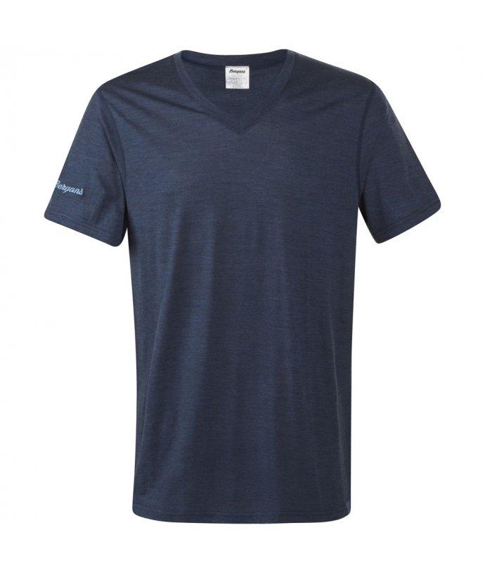Pánské lehké elegantní vlněné triko Bergans Bloom Wool