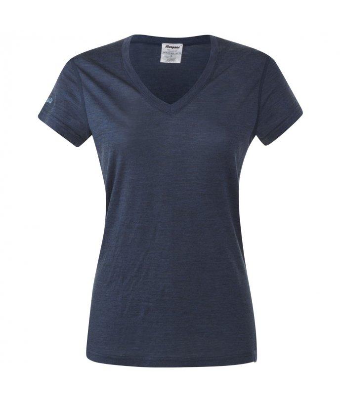 Dámské lehké elegantní vlněné triko Bergans Bloom Wool