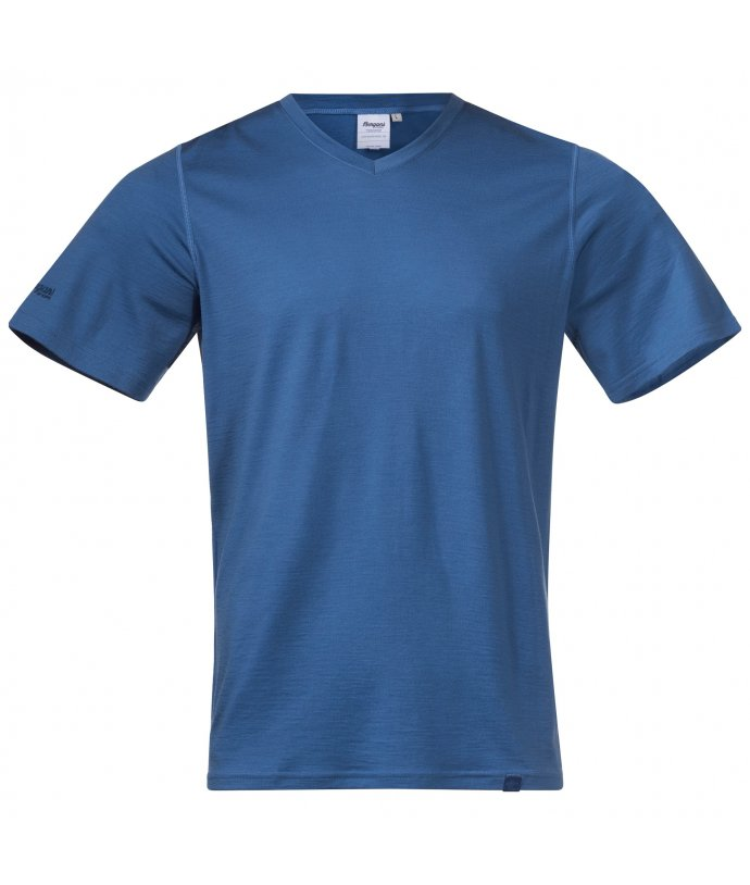 Pánské tričko z Merino vlny Bergans Bloom Wool