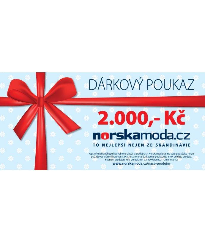 Elektronický dárkový poukaz 2000kč
