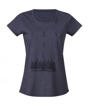 Adventure Lady Tee, dámské prodyšné triko s krátkým rukávem