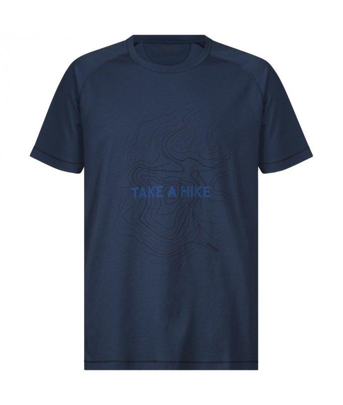 Take a Hike Tee, pánské prodyšné triko s krátkým rukávem