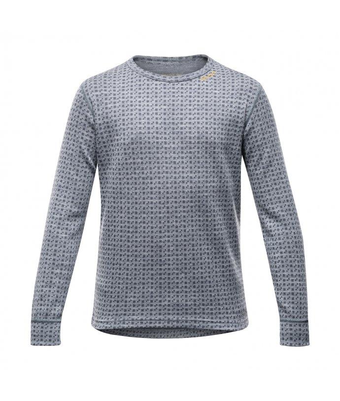 Juniorské velmi teplé vlněné triko Devold Islender