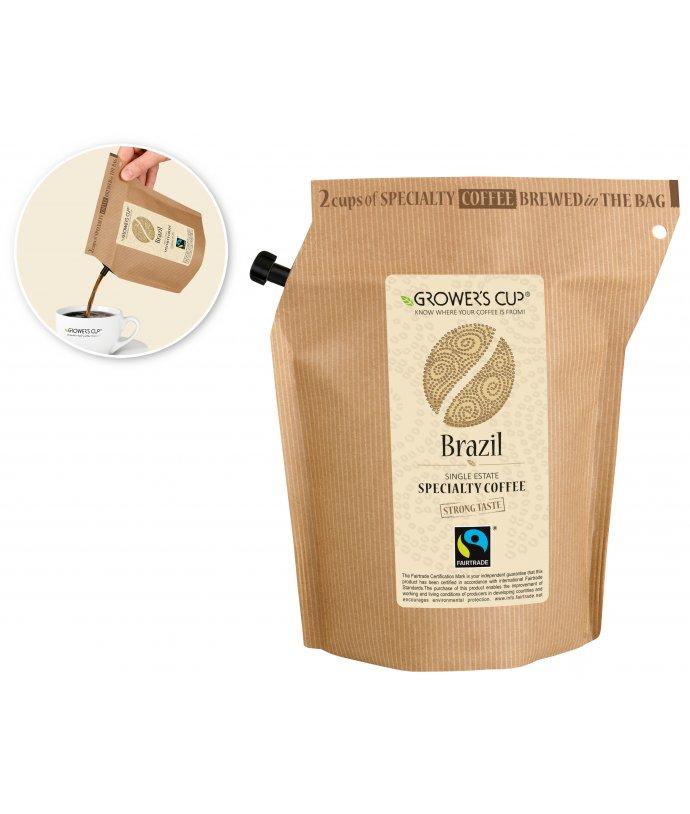 Grower's Cup lahodná káva v originálním balení, Brazil