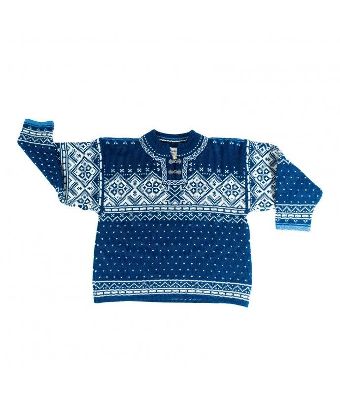 Dětský vlněný svetr  Hardanger Fjorden Dale
