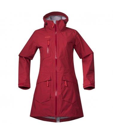 Dámský nepromokavý stylový kabát Bergans Hella