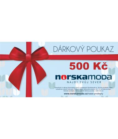 Elektronický dárkový poukaz 500kč