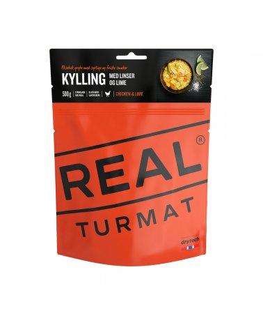 Real Turmat - Kuřecí na limetkách s čočkou a rýží