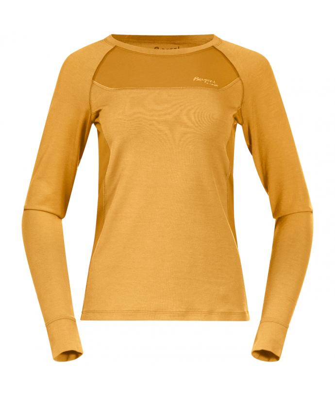 Dámské funkční triko z Merino vlny Bergans Cecilie Wool Long Sleeve