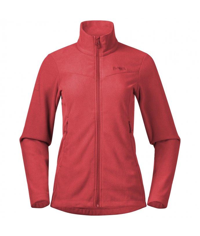 Dámská lehká fleecová mikina Bergans Finnsnes Fleece W Jacket