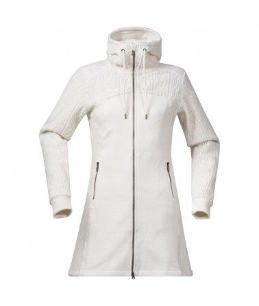 Dámský vlněný lifestylový kabát Bergans Skogfrue