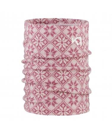 Dámský multifunkční šátek Kari Traa Rose Tube z Merino vlny
