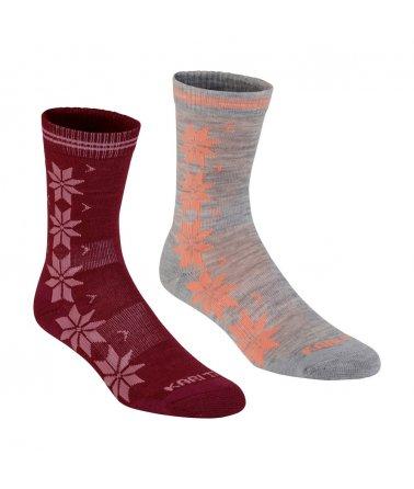 Dámské ponožky Kari Traa Vinst Wool 2pk