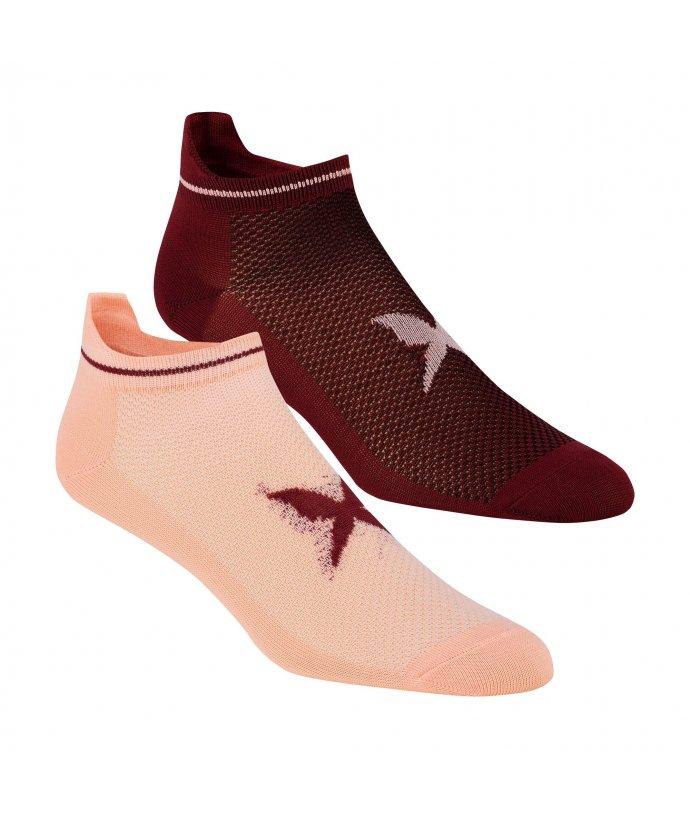 Dámské kotníkové ponožky Kari Traa Nora Sock 2 PK