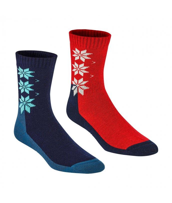 Dámské vlněné ponožky Kari Traa KT Wool Sock 2PK