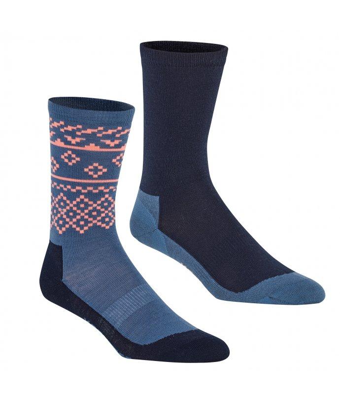 Dámské turistické ponožky Kari Traa Ragna Hiking Sock 2Pk