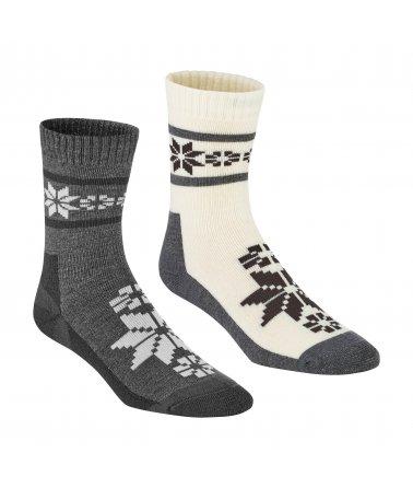 Dámské vlněné ponožky Kari Traa Rusa Wool Sock 2Pk
