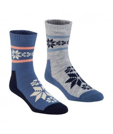 Kari Traa Rusa Wool Sock 2PK, ponožky 2ks, dámské