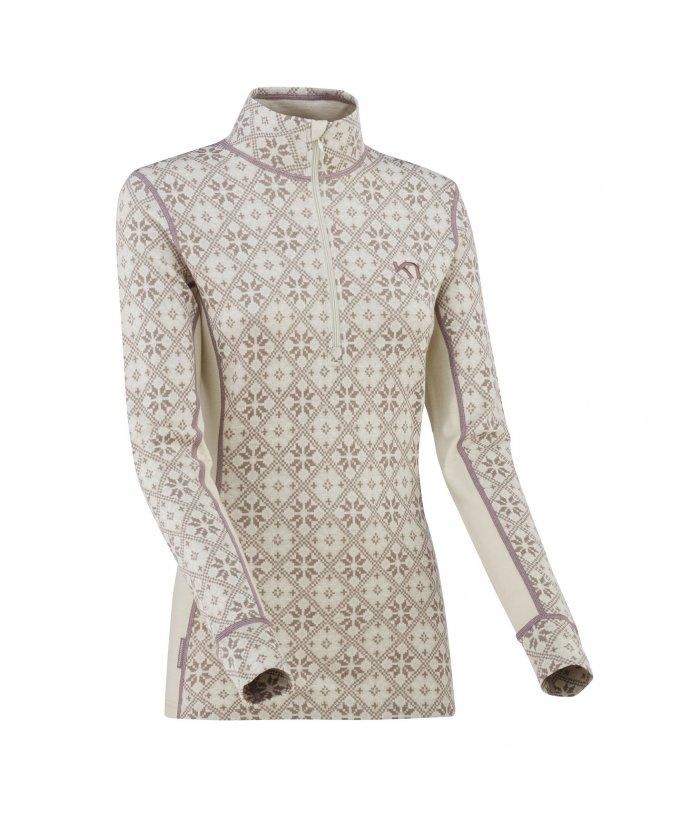 Dámské vlněné triko s dlouhým rukávem Kari Traa Rose H/Z