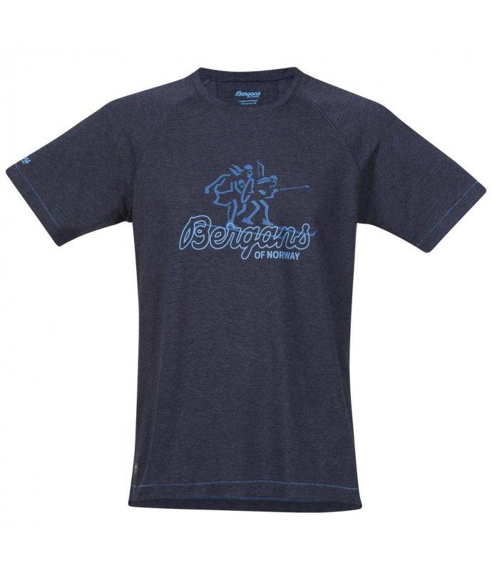 Pánské prodyšné jednoduché triko Bergans Bergans Tee