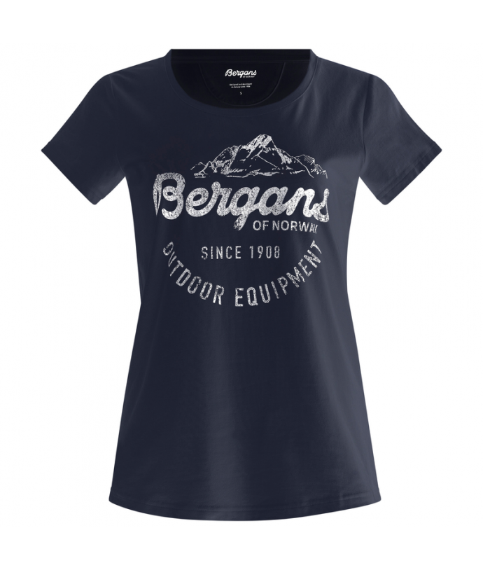 Dámské bavlněné tričko s krátkým rukávem Bergans Classic W Tee