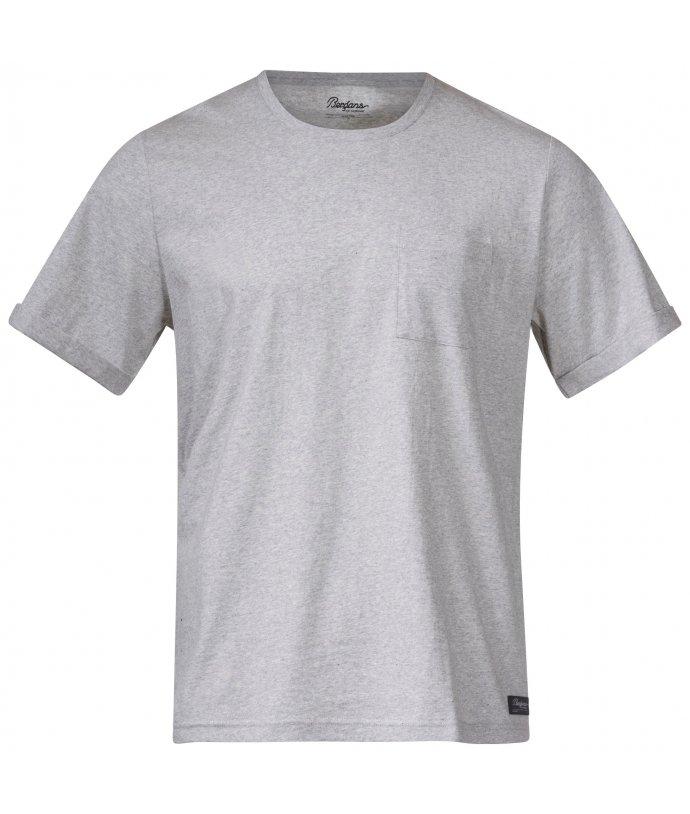 Pánské tričko z recyklované bavlny Bergans Oslo Re-Cotton Tee