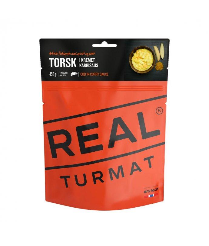 Real Turmat - Treska s bramborem v kari omáčce