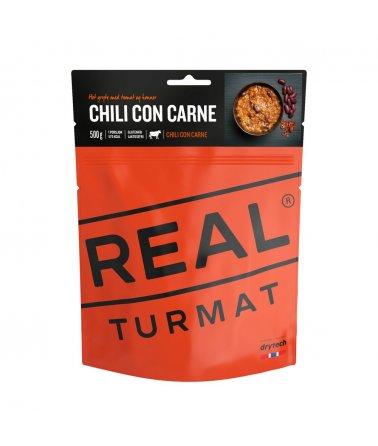 Real Turmat - Chili con Carne, Hovězí maso s fazolemi a rýží