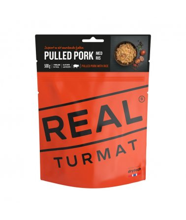 Real Turmat - Trhané vepřové maso s rýží