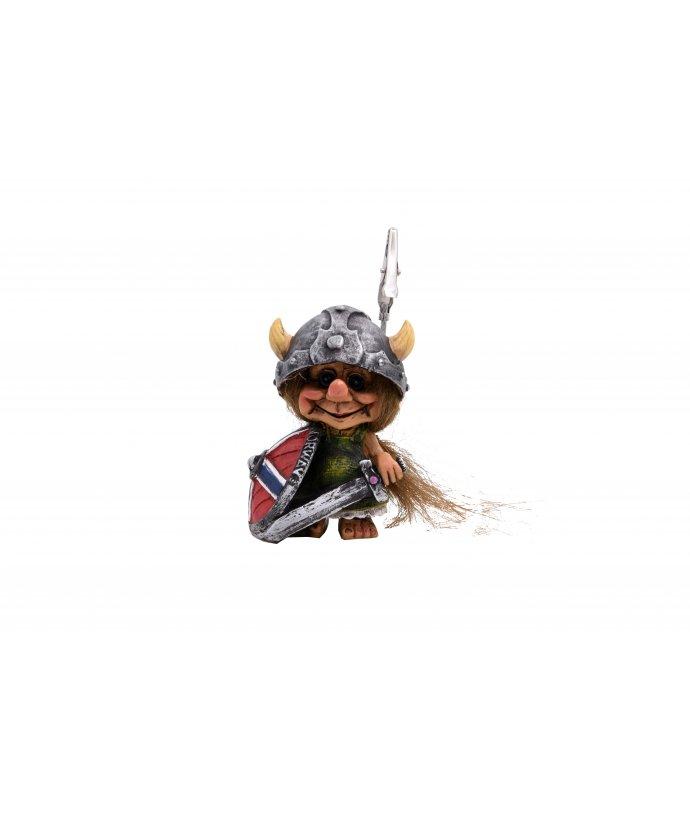 Vikingský troll se štítem