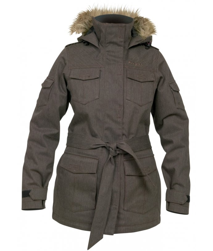 Granite Insulated Lady Parka, kabát, dámský