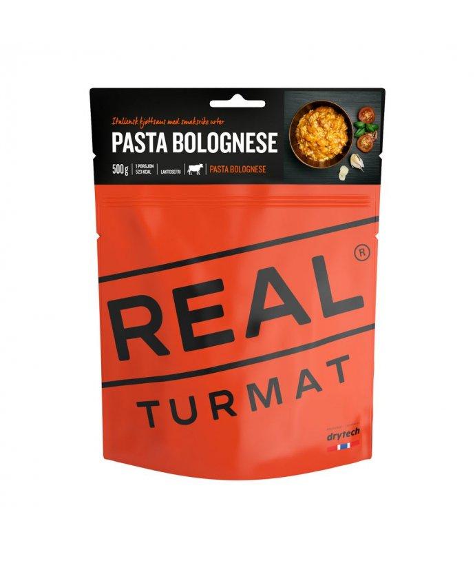 Real Turmat – Boloňské těstoviny  s hovězím masem