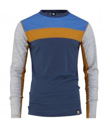 Vlněné funkční triko s dlouhým rukávem BULA Retro Wool Crew