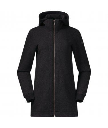 Dámský vlněný kabát Oslo Wool W Coat Bergans
