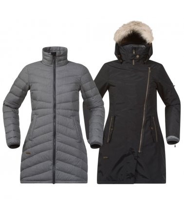 Dámský kombinovaný elegantní kabát Bergans Sagene