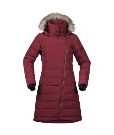 Dámský péřový elegantní kabát Bergans Bodo