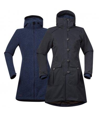 Dámský elegantní zateplený kabát Bergans Bjerke