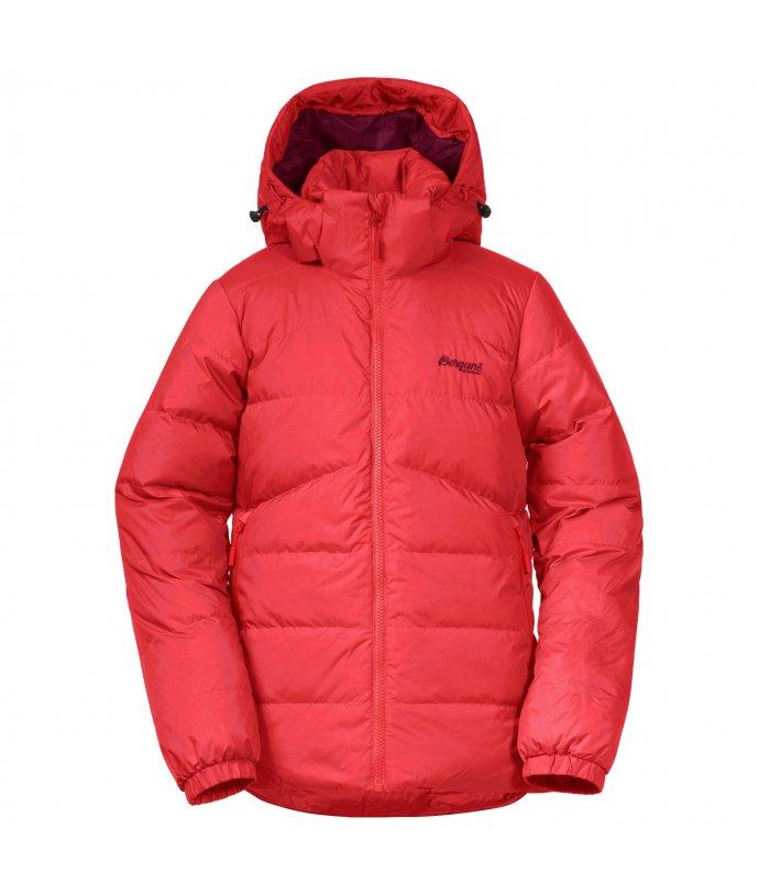 Dívčí péřová nepromokavá bunda Bergans Røros Down Youth Girl Jacket