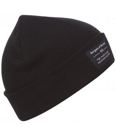Čepice ze Merino Bergans Fine Knit Beanie