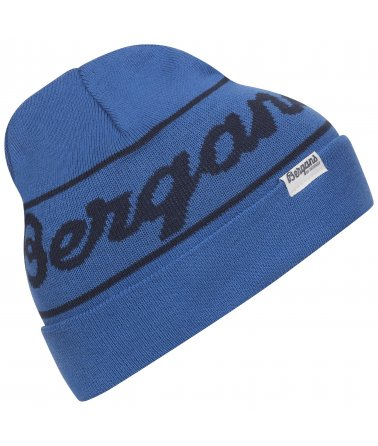 Dětská pletená čepice Bergans Logo Youth Beanie