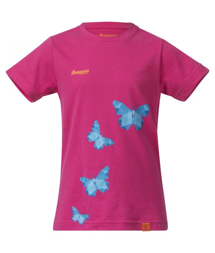 Bergans Butterfly Kids Tee, triko, dětské