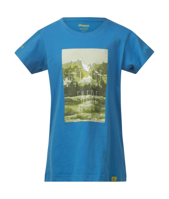 Bergans Nature Youth Tee, triko, chlapecké